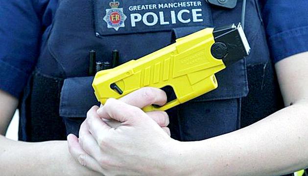 Una Taser de la policia anglesa.