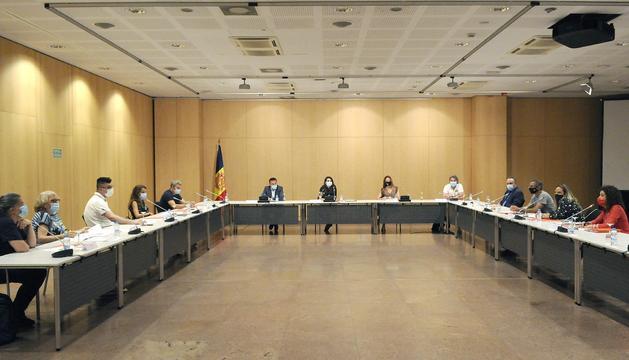 Reunió de la comissió de tractament de joves amb transtorns conductuals