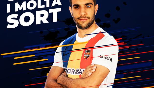 L'FC Andorra ha anunciat la baixa de Forgas a xarxes socials