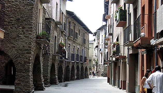 Casc antic de la Seu d'Urgell.