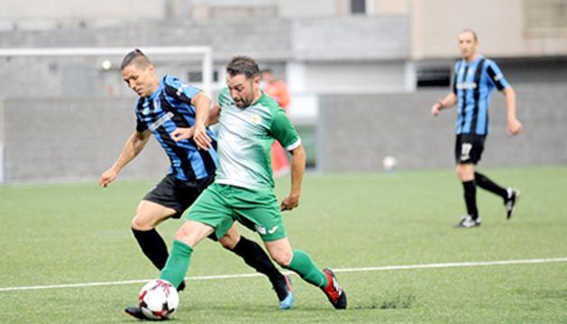 L'Inter va poder repetir victòria contra els lauredians.