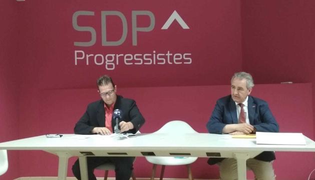 Donsion i Bartumeu han comparegut en la roda de premsa setmanal