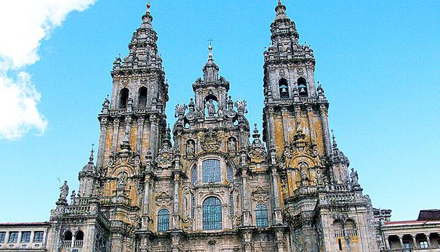 La catedral de Santiago de Compostel·la.
