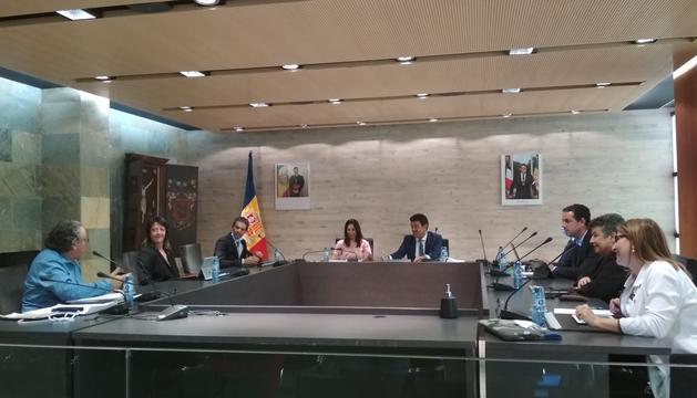 El comú d'Ordino ha celebrat avui ple del consell