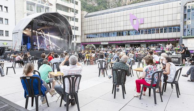 Un concert a la Festa major laurediana