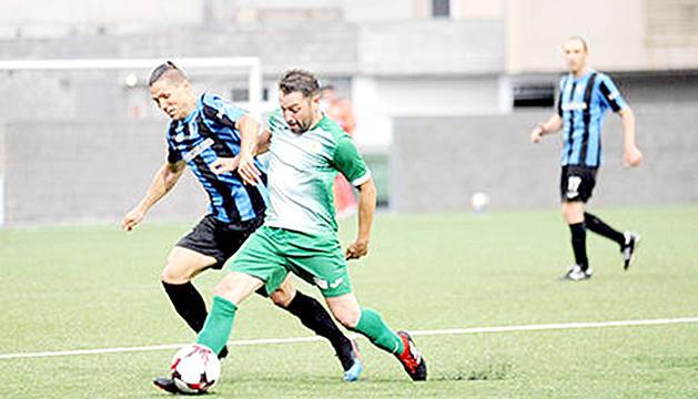 La semifinal de Copa entre l'Inter i el Sant Julià.