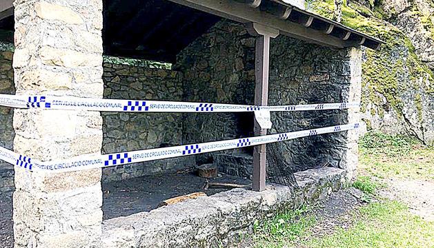 Tancament de les barbacoes a Escaldes-Engordany.