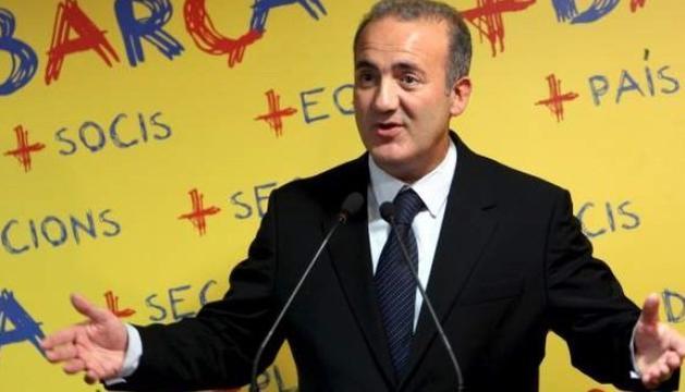 Alfons Godall, durant la seva etapa de pre-candidat a les eleccions de l'FC Barcelona.