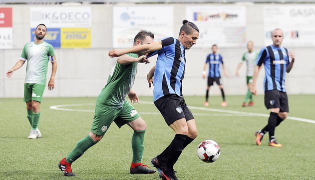 Duel de l'última jornada de la LligaMultisegur Assegurances entre Inter Escaldes i UE Sant Julià.