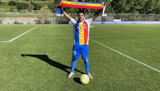 Martí Vila és el segon fitxatge de l'FC Andorra