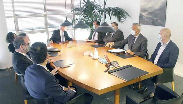 El Tribunal d'Arbitratge es va formalitzar davant notari a mitjan de juliol.