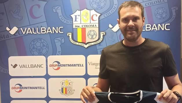 Albert Jorquera ha fitxat pel Vall Banc Santa Coloma