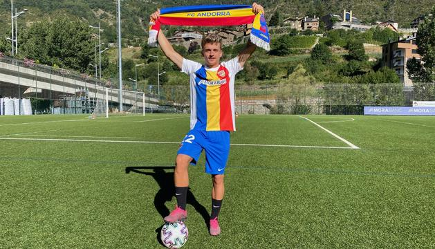 Pau Martínez arriba del filial de l'Espanyol a l'FC Andorra