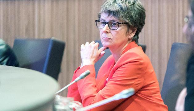 La consellera general i presidenta del partit,Susanna Vela.