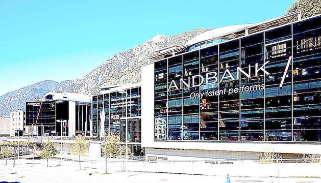 Les oficines d'Andbank a Escaldes-Engordany.