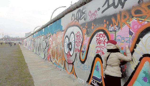 El mur convertit en centre d'art