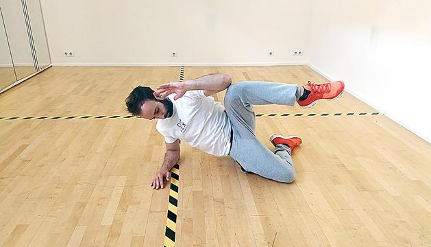 Flexió abdominal oblic