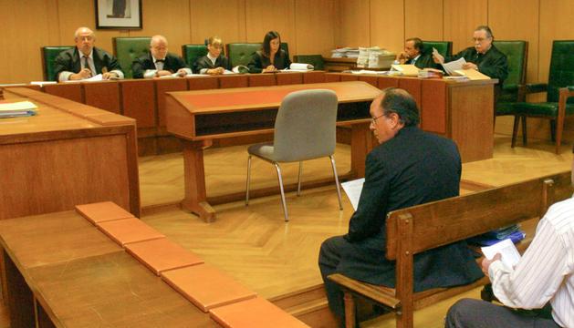 José Manuel Rodríguez durant el judici del 2004.
