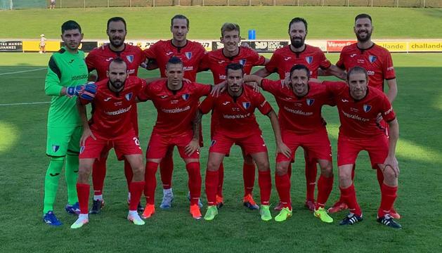 Alineació de l'Inter Escaldes.