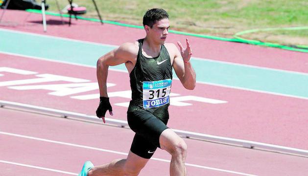 Bruno Hortelano disputarà els 150 metres.