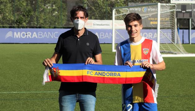 Sergi Serrano s'incorpora a l'FC Andorra