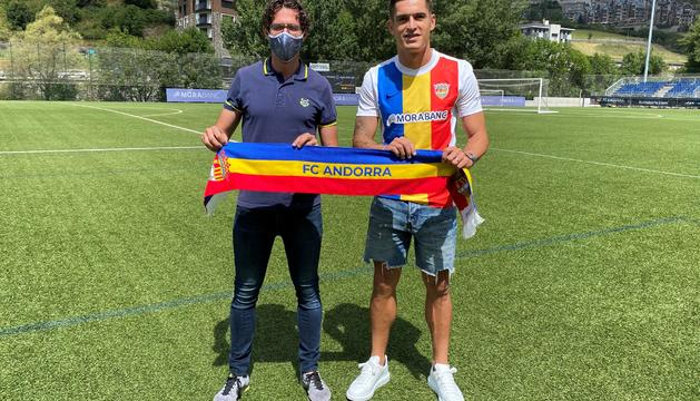 Jaume Nogués i Marc Pedraza, a Prada de Moles.