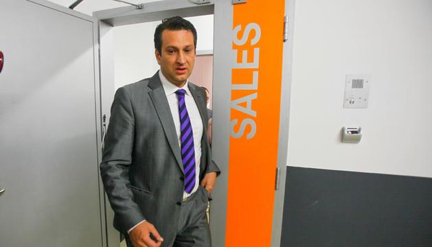 El nou director de la presó, Miquel Àngel Garcia.
