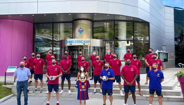 El Barça d'handbol repeteix a Encamp