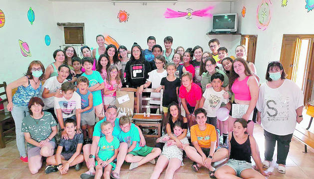 Un grup de quaranta infants van gaudir de 15 dies de diversió a Brunyola (Girona).