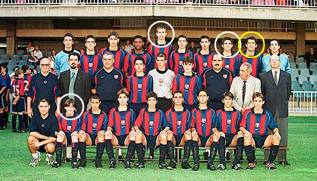 El nou fitxatge de  l'FC Andorra va ser company de Piqué