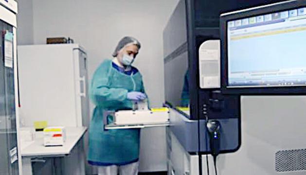 Captura del vídeo que ha fet públic el SAAS.