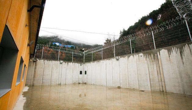 Pati del centre penitenciari de la Comella.