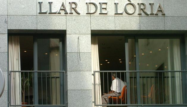 L'edifici on està ubicada la Llar de Lòria.