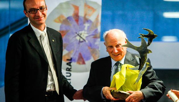 Badia rep el premi Àgora el 2014.