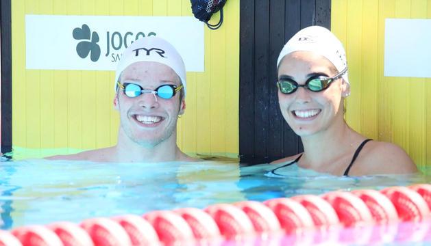 Bernat Lomero i Nàdia Tudó.
