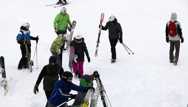 Esquiadors la temporada passada a Grandvalira.