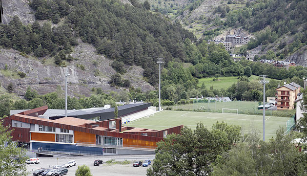 Camp de futbol d'Ordino.