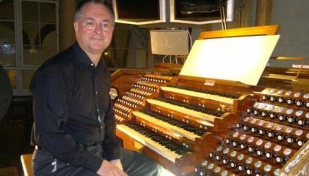 L'organista italià, Alessandro Bianchi.