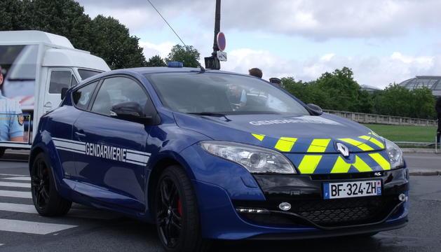 El conductor va ser controlat per agents de la gendarmeria de Bayona