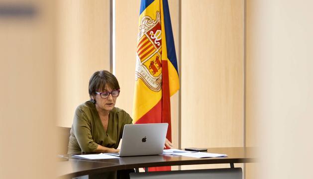 La síndica general, Roser Suñé.