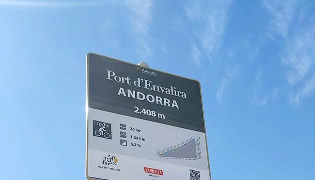 El COEXrenova el cartell del Port d'Envalira