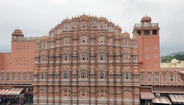 Hawa Mahal, Jaipur (Índia).