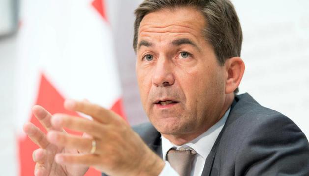 Walter Thurnherr, canceller de la confederació suïssa.
