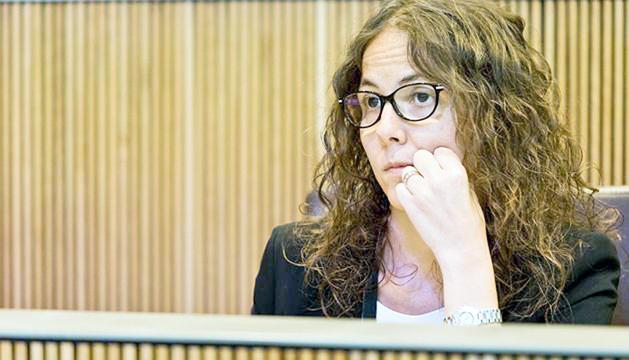 La consellera del PS, Judith Salazar.