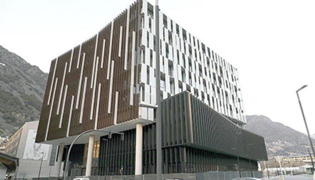 L'edifici de la nova Seu de la Justícia.