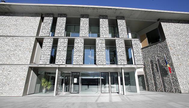L'edifici del Consell General.
