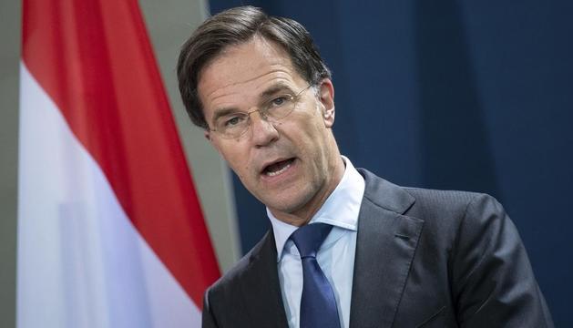 El primer ministre holandès, Mark Rutte.