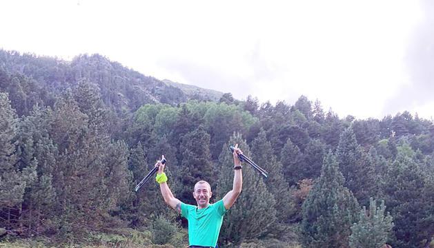 Gerard Berroia va completar el repte de l''Everesting'.