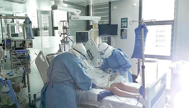 L'UCI de l'hospital de Meritxell