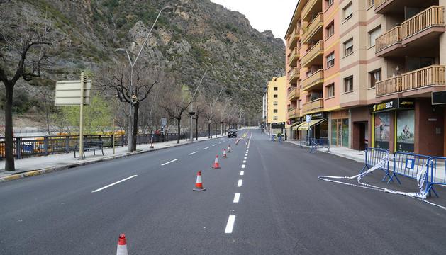 Tram de l'avinguda Francesc Cairat de Sant Julià